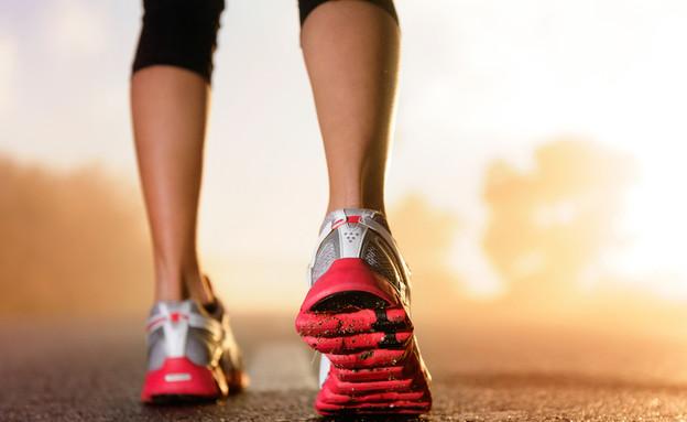 נעלי ספורט, ריצה (צילום: Daxiao Productions, Shutterstock)