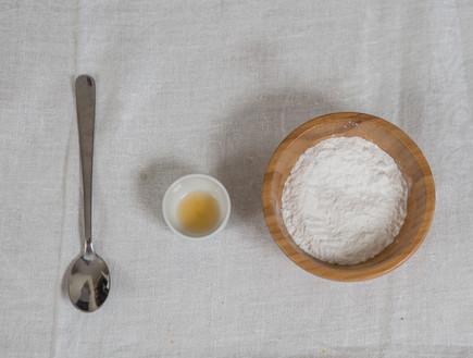 עוגת שקדים - מכינים את הזיגוג