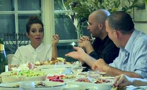 """הצצה ל""""פוליאקובים"""": ארוחת ערב משפחתית (צילום: HOT, באדיבות HOT)"""
