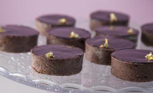 טארטלט קרמו שוקולד (צילום: אפיק גבאי, בייק אוף ישראל)