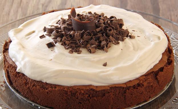 עוגת שוקולד ללא קמח עם קרם קפה 10 (צילום: חן שוקרון, אוכל טוב)