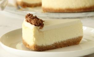 עוגת גבינה אפויה 1 (צילום: חן שוקרון, אוכל טוב)