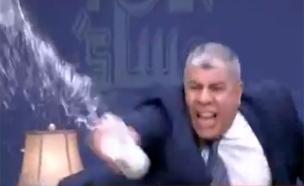 צפו בהתקף הזעם של שוביר (צילום: יוטיוב)