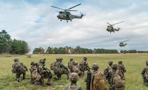 צבא האיחוד האירופי (צילום: צבא צרפת)