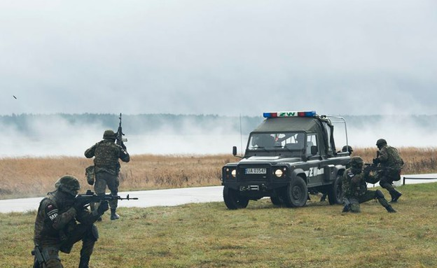 """צבא האיחוד האירופי (צילום: נאט""""ו)"""