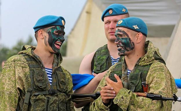 צבא האיחוד האירופי (צילום: משרד ההגנה הרוסי)