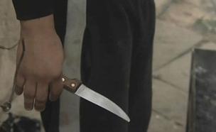 """""""פרץ לבית, דקר למוות - ונמלט"""" (צילום: חדשות 2)"""