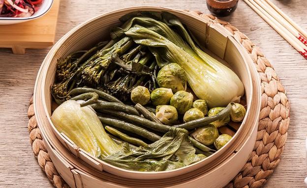 ירקות ירוקים מאודים (צילום: אפיק גבאי, סטיילינג: דיאנה לינדר)