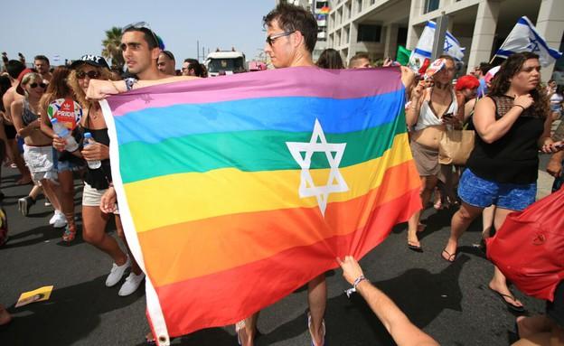מצעד הגאווה 2016 (צילום: עופר חן)