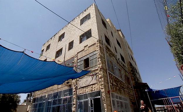 בית ספר במזרח ירושלים (צילום: חדשות 2)