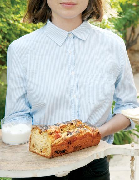 לחם בצל מטוגן וגבינת עזים (צילום: ארז בן שחר, אפייה מהירה, הוצאת כתר)