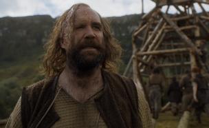 ההאונד סנדור קלגיין ב'משחקי הכס' עונה 6 פרק 7 (צילום: באדיבות yes HBO)