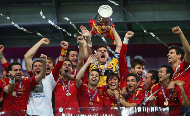 נבחרת ספרד (צילום: Handout, GettyImages IL)