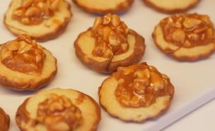 עוגיות בוטנים, טופי ושוקולד (צילום: דניאל בר און, בייק אוף ישראל)