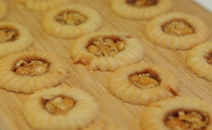 עוגיות נוגטין (צילום: דניאל בר און, בייק אוף ישראל)