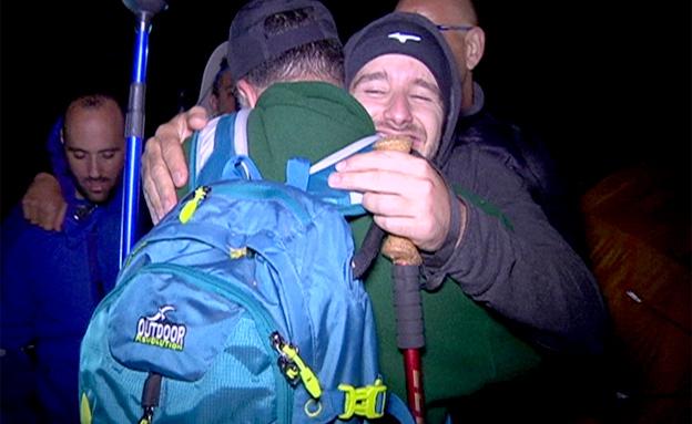 טיול שחרור של פצועי צוק איתן (צילום: חדשות 2)