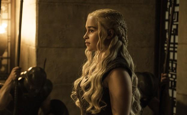 אמיליה קלארק (דאינריז) ב'משחקי הכס' עונה 6 פרק 7 (צילום: HBO)