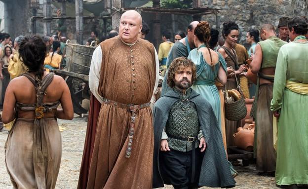 ואריז וטיריון ב'משחקי הכס' עונה 6 פרק 7 (צילום: HBO)
