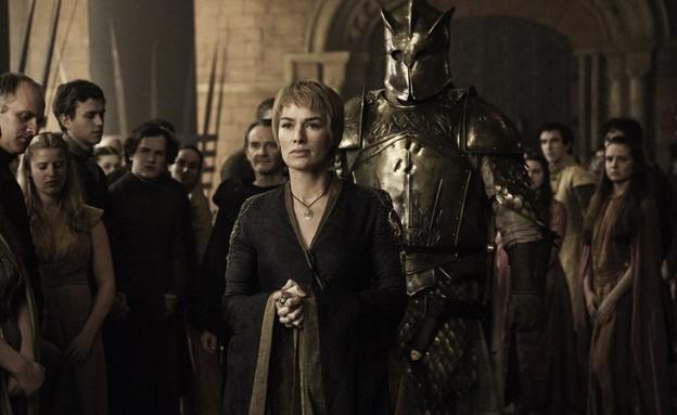 סרסיי וההר ב'משחקי הכס' עונה 6 פרק 7 (2) (צילום: HBO)