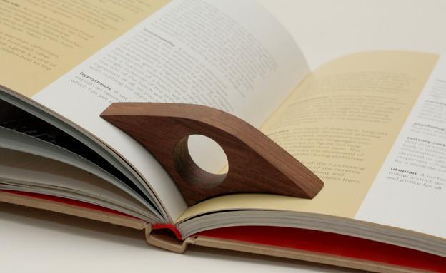 שבוע הספר 06, לשמור על העמוד פתוח ללא מאמץ (צילום: Twigloo, etsy.co)