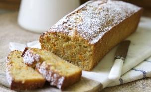 עוגת גזר ומייפל (צילום: קרן אגם, אוכל טוב)