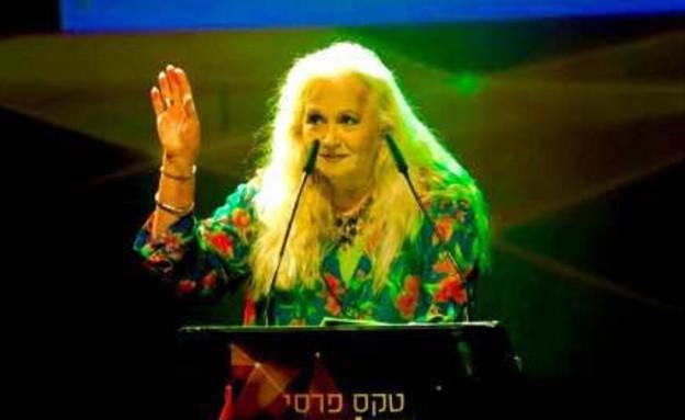 מירי אלוני זוכה בטקס פרסי הטלוויזיה (צילום: רפי דלויה,  יחסי ציבור )