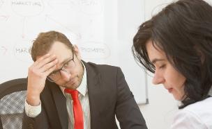 בוס מאוכזב (אילוסטרציה: Shutterstock)