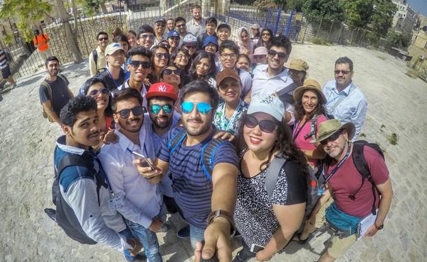תיירים הודים מבקרים בישראל