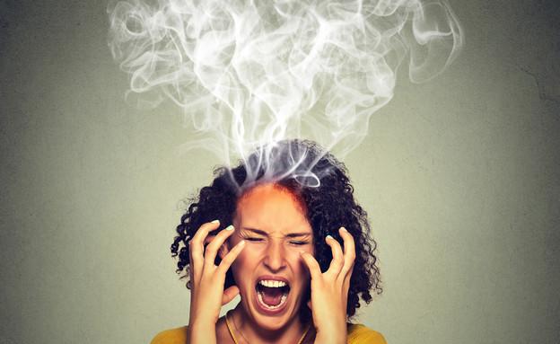 אישה כועסת (צילום: pathdoc, Shutterstock)