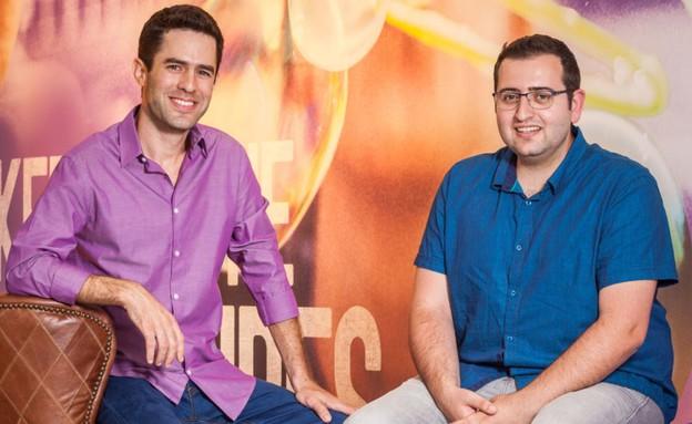"""סמנכ""""לי וייבר מיכאל שמילוב ואלעד קוז'יקרו (צילום: אייל טואג, TheMarker)"""