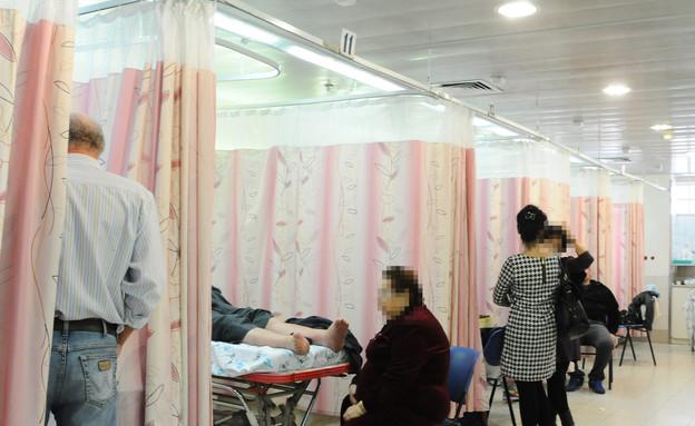 חולים בבית חולים וולפסון בתל אביב  (צילום:  יוסי זליגר לפלאש 90)