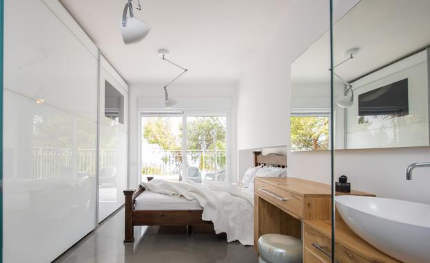 שלום אדריכלות, שינה ורחצה (צילום: אביב קורט)