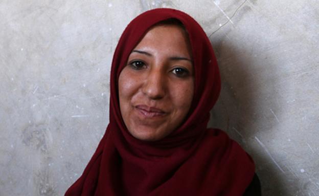 סואעד חמידי שוחררה משבי דאעש (צילום: רויטרס)