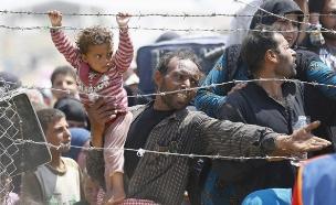 זרם ההגירה לא עוצר (צילום: רויטרס)