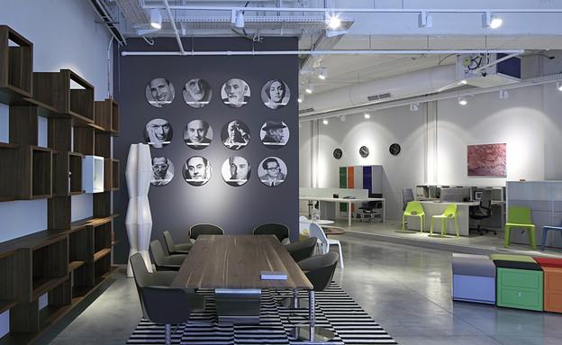 מגוון פתרונות לעיצוב סביבת העבודה (צילום: עוזי פורת)