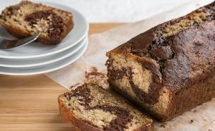 עוגת בננה ושוקולד  (צילום: דרור עינב, אוכל טוב)