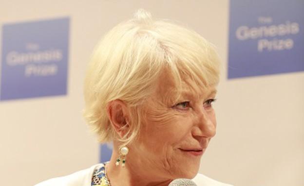 הלן מירן מסיבת עיתונאים (צילום: נטשה קופרמן)
