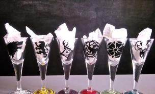 כוסות אלכוהול (צילום: etsy)