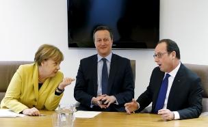 מרקל על בריטניה: לא צריך למהר (ארכיון) (צילום: רויטרס)