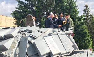 הטנק שקיבל נתניהו ברוסיה