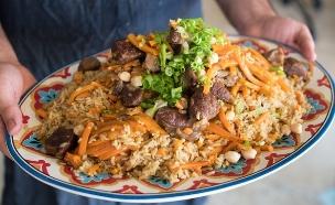 סמרקנד אור יהודה פלוב אורז (צילום: נמרוד סונדרס, אוכל טוב)