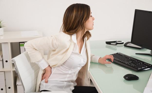 כאבי גב (אילוסטרציה: Shutterstock)