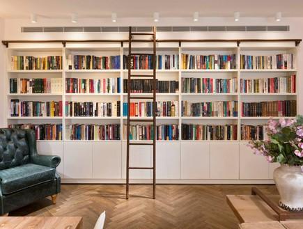 פריט מנצח 04, סולם ספרייה, עיצוב פנינית שרת, צילום שי אפשטיין