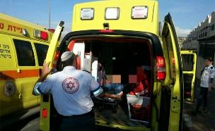 """פצועים בפיגוע בקריית ארבע. ארכיון (צילום: הצלה יו""""ש)"""