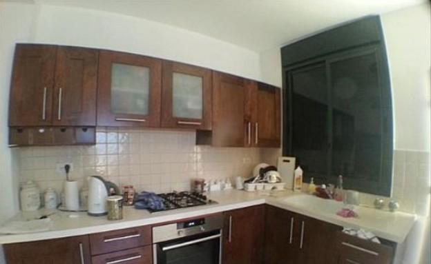פגי למפרט, מטבח לפני (צילום: צילום ביתי)