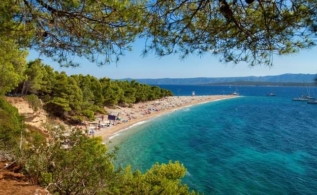 חוף גרין הורן, קרואטיה (צילום: Igartist 79, Shutterstock)