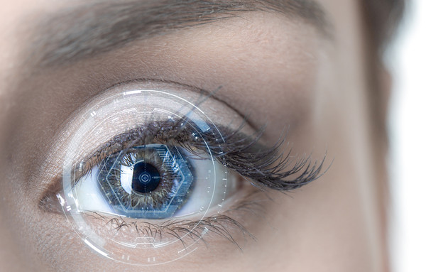 זיהוי העין (צילום: ShutterStock)
