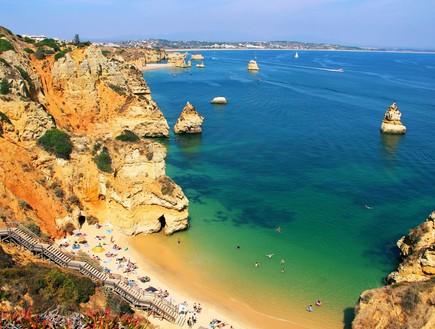חוף קמילו, פורטוגל (צילום: karnizz, Shutterstock)