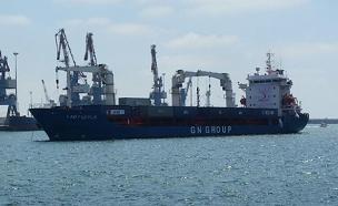 הספינה הטורקית שבדרכה לעזה (צילום: עזרי עמרם, חדשות 2)