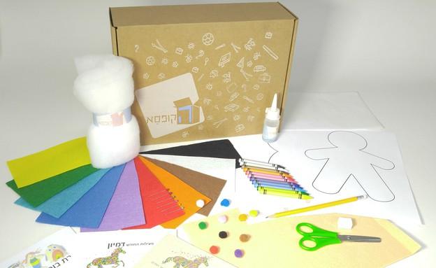 הקופסא כוללת את כל האביזרים הדרושים למשך הפעילו